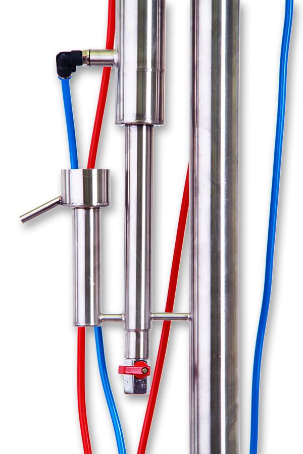 Dvouplášťový Destilační přístroj 50L Fiedor 1na ovoci