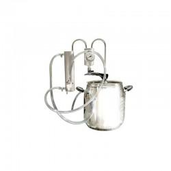 Destilační přístroj 5L - 36L Destilátor, Palírna, Lihovarník, Vinopalník, chlazení, odkalovač
