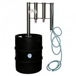 Destilační přístroj, destilátor, palírna, lihovarník, vinopalník 30 - 50L