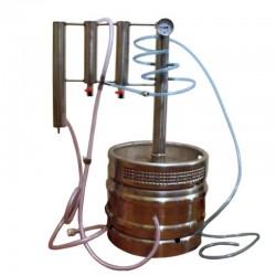 Destilační přístroj, destilátor, palírna, lihovarník, vinopalník 50L